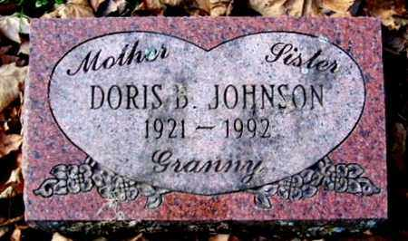 JOHNSON, DORIS - Calhoun County, Michigan | DORIS JOHNSON - Michigan Gravestone Photos