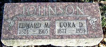 JOHNSON, CORA D - Calhoun County, Michigan | CORA D JOHNSON - Michigan Gravestone Photos