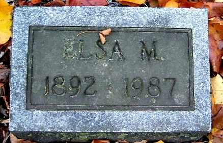 JOHNSON, ELSA M - Calhoun County, Michigan | ELSA M JOHNSON - Michigan Gravestone Photos