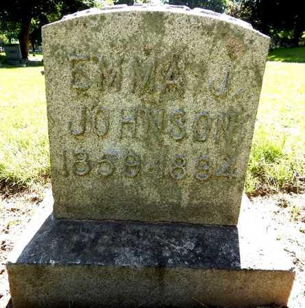 JOHNSON, EMMA J - Calhoun County, Michigan | EMMA J JOHNSON - Michigan Gravestone Photos