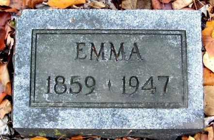 JOHNSON, EMMA - Calhoun County, Michigan | EMMA JOHNSON - Michigan Gravestone Photos