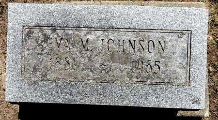 JOHNSON, EVA M - Calhoun County, Michigan | EVA M JOHNSON - Michigan Gravestone Photos