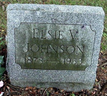 JOHNSON, ELSIE V - Calhoun County, Michigan | ELSIE V JOHNSON - Michigan Gravestone Photos