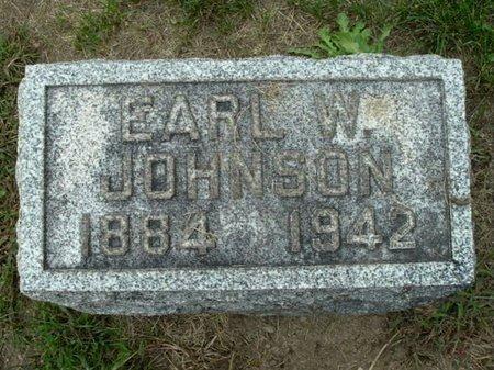 JOHNSON, EARL W. - Calhoun County, Michigan | EARL W. JOHNSON - Michigan Gravestone Photos