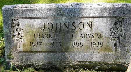 JOHNSON, GLADYS M - Calhoun County, Michigan | GLADYS M JOHNSON - Michigan Gravestone Photos