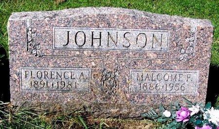 JOHNSON, FLORENCE A - Calhoun County, Michigan | FLORENCE A JOHNSON - Michigan Gravestone Photos
