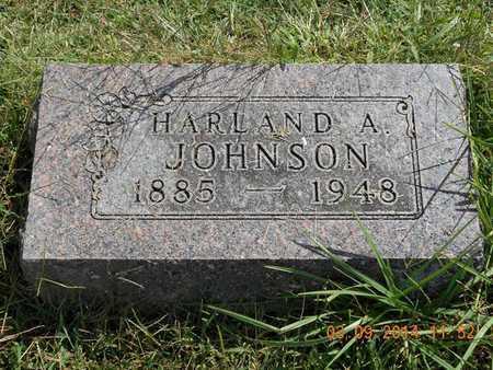 JOHNSON, HARLAND A. - Calhoun County, Michigan | HARLAND A. JOHNSON - Michigan Gravestone Photos