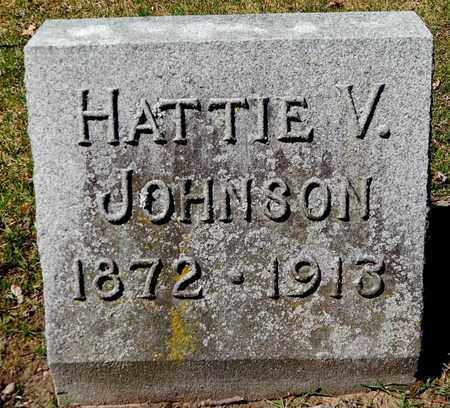 JOHNSON, HATTIE V - Calhoun County, Michigan | HATTIE V JOHNSON - Michigan Gravestone Photos
