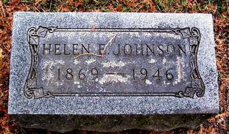 JOHNSON, HELEN E - Calhoun County, Michigan | HELEN E JOHNSON - Michigan Gravestone Photos