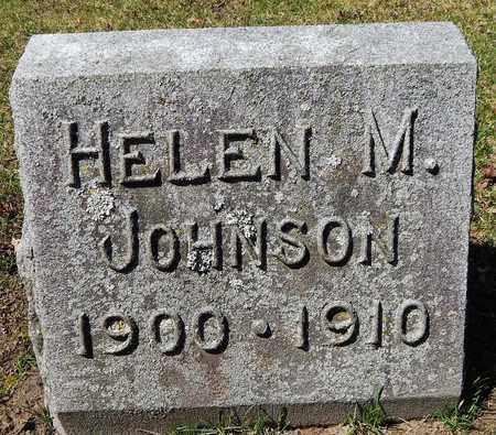 JOHNSON, HELEN M - Calhoun County, Michigan | HELEN M JOHNSON - Michigan Gravestone Photos