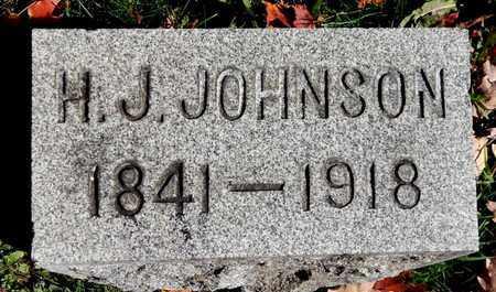 JOHNSON, HIRAM J - Calhoun County, Michigan | HIRAM J JOHNSON - Michigan Gravestone Photos