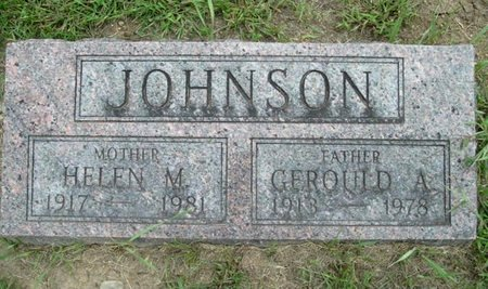 JOHNSON, GEROULD A. - Calhoun County, Michigan | GEROULD A. JOHNSON - Michigan Gravestone Photos