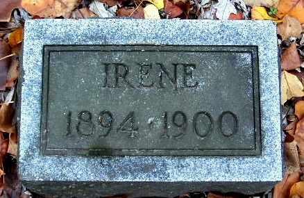 JOHNSON, IRENE - Calhoun County, Michigan | IRENE JOHNSON - Michigan Gravestone Photos
