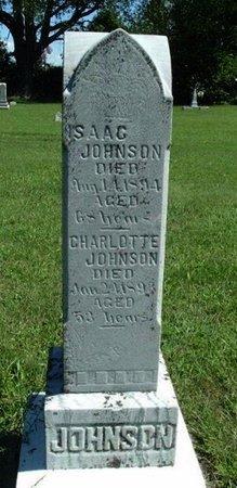 JOHNSON, ISAAC - Calhoun County, Michigan   ISAAC JOHNSON - Michigan Gravestone Photos