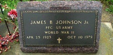 JOHNSON, JAMES B. JR - Calhoun County, Michigan | JAMES B. JR JOHNSON - Michigan Gravestone Photos