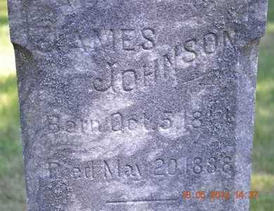 JOHNSON, JAMES - Calhoun County, Michigan | JAMES JOHNSON - Michigan Gravestone Photos