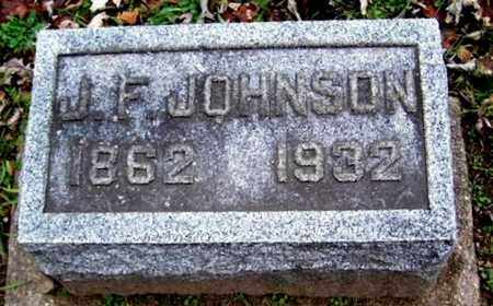 JOHNSON, J. FRANK - Calhoun County, Michigan | J. FRANK JOHNSON - Michigan Gravestone Photos
