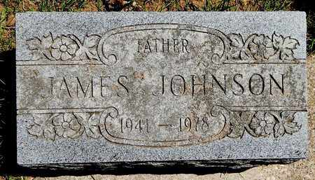 JOHNSON, JAMES - Calhoun County, Michigan | JAMES JOHNSON - Michigan Gravestone Photos