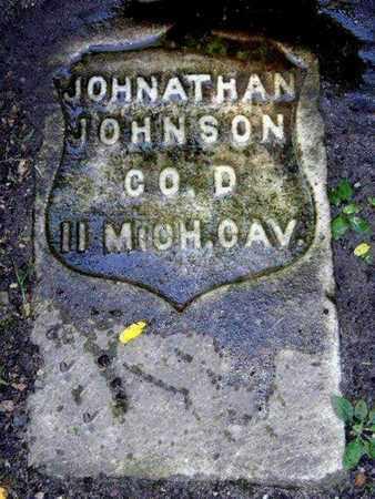 JOHNSON, JONATHAN - Calhoun County, Michigan | JONATHAN JOHNSON - Michigan Gravestone Photos