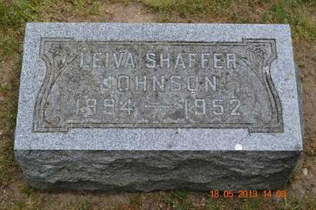 JOHNSON, LEIVA - Calhoun County, Michigan | LEIVA JOHNSON - Michigan Gravestone Photos