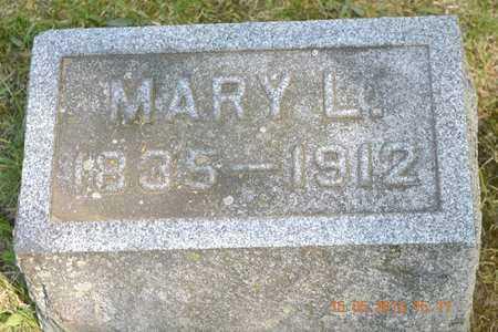 JOHNSON, MARY L. - Calhoun County, Michigan | MARY L. JOHNSON - Michigan Gravestone Photos