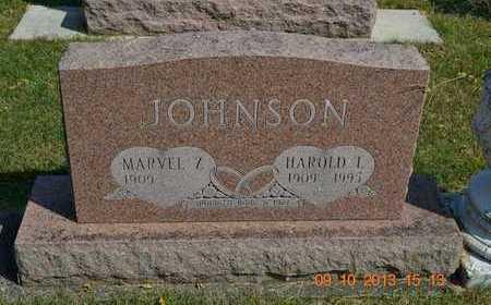 JOHNSON, MARVEL Z. - Calhoun County, Michigan | MARVEL Z. JOHNSON - Michigan Gravestone Photos