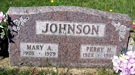 JOHNSON, MARY A - Calhoun County, Michigan | MARY A JOHNSON - Michigan Gravestone Photos