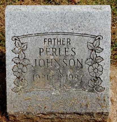 JOHNSON, PERLES - Calhoun County, Michigan | PERLES JOHNSON - Michigan Gravestone Photos