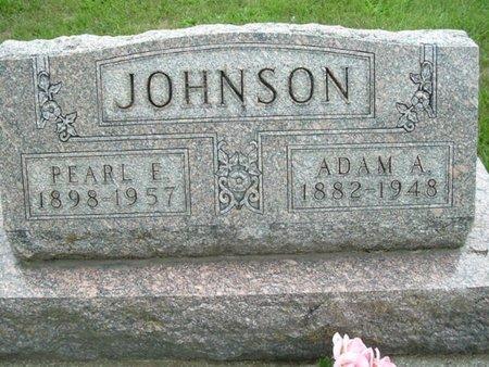 JOHNSON, PEARL E. - Calhoun County, Michigan   PEARL E. JOHNSON - Michigan Gravestone Photos
