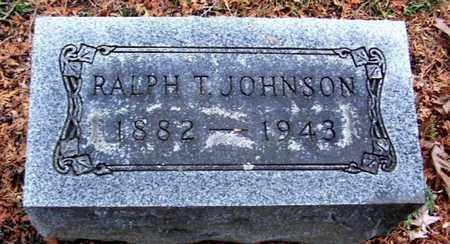 JOHNSON, RALPH T - Calhoun County, Michigan | RALPH T JOHNSON - Michigan Gravestone Photos