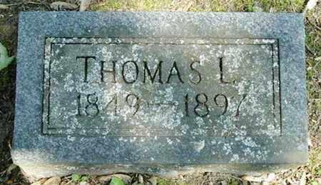 JOHNSON, THOMAS L - Calhoun County, Michigan   THOMAS L JOHNSON - Michigan Gravestone Photos