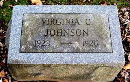 JOHNSON, VIRGINIA C - Calhoun County, Michigan   VIRGINIA C JOHNSON - Michigan Gravestone Photos