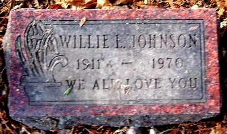 JOHNSON, WILLIE L - Calhoun County, Michigan | WILLIE L JOHNSON - Michigan Gravestone Photos