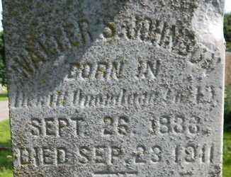 JOHNSON, WALTER S - Calhoun County, Michigan | WALTER S JOHNSON - Michigan Gravestone Photos