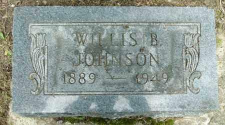 JOHNSON, WILLIS B - Calhoun County, Michigan | WILLIS B JOHNSON - Michigan Gravestone Photos