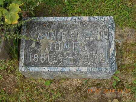 JONES, FANNIE ELLEN - Calhoun County, Michigan | FANNIE ELLEN JONES - Michigan Gravestone Photos
