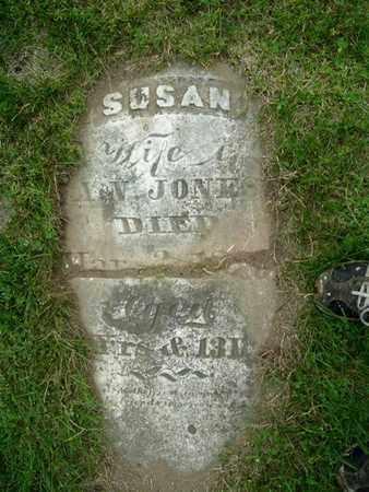 JONES, SUSAN - Calhoun County, Michigan   SUSAN JONES - Michigan Gravestone Photos