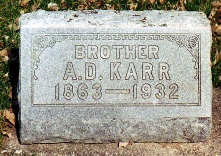 KARR, ADELBERT - Calhoun County, Michigan | ADELBERT KARR - Michigan Gravestone Photos