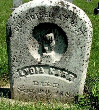 KARR, LYDIA - Calhoun County, Michigan   LYDIA KARR - Michigan Gravestone Photos