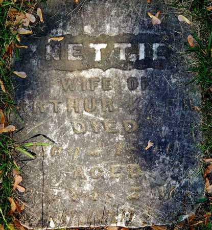 KARR, NETTIE - Calhoun County, Michigan | NETTIE KARR - Michigan Gravestone Photos