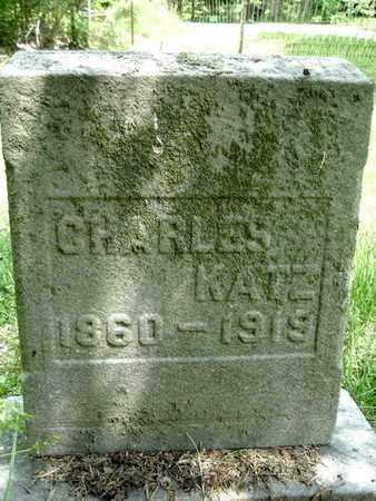 KATZ, CHARLES - Calhoun County, Michigan   CHARLES KATZ - Michigan Gravestone Photos