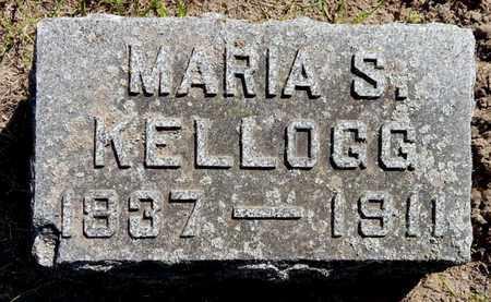 KELLOGG, MARIA S - Calhoun County, Michigan   MARIA S KELLOGG - Michigan Gravestone Photos
