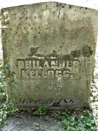 KELLOGG, PHILANDER - Calhoun County, Michigan | PHILANDER KELLOGG - Michigan Gravestone Photos