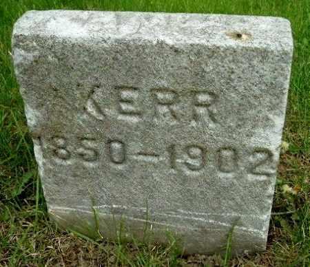KERR, JAMES - Calhoun County, Michigan | JAMES KERR - Michigan Gravestone Photos