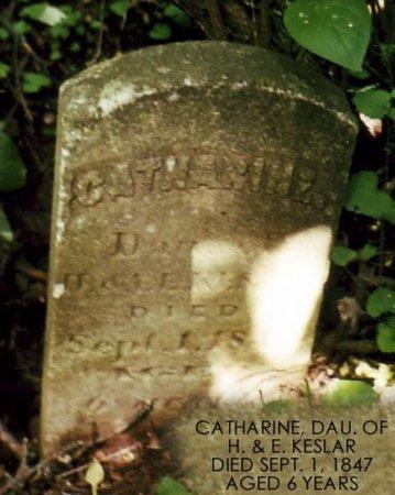 KESLAR, CATHARINE - Calhoun County, Michigan | CATHARINE KESLAR - Michigan Gravestone Photos