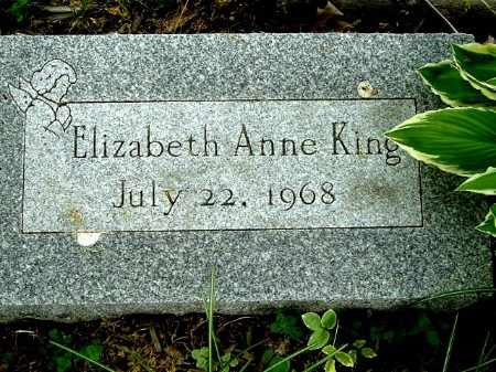 KING, ELIZABETH A - Calhoun County, Michigan   ELIZABETH A KING - Michigan Gravestone Photos