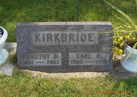 KIRKBRIDE, DOROTHY H. - Calhoun County, Michigan | DOROTHY H. KIRKBRIDE - Michigan Gravestone Photos