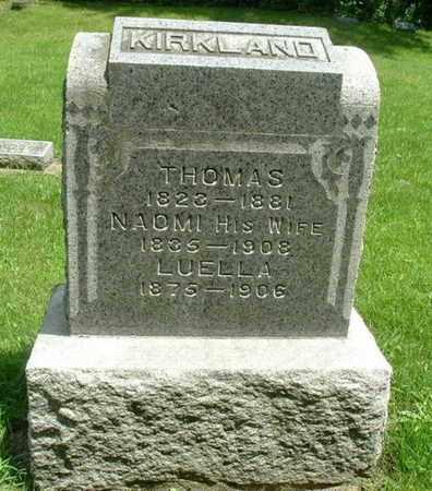 KIRKLAND, NAOMI - Calhoun County, Michigan | NAOMI KIRKLAND - Michigan Gravestone Photos