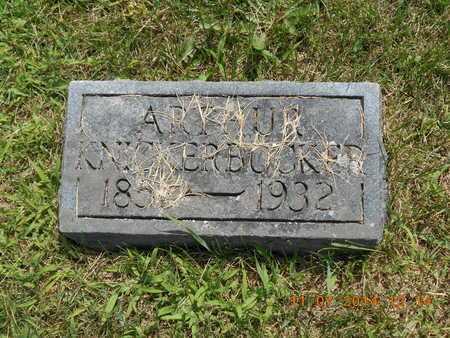 KNICKERBOCKER, ARTHUR - Calhoun County, Michigan | ARTHUR KNICKERBOCKER - Michigan Gravestone Photos