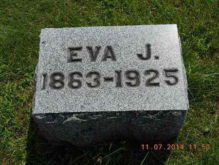 KNICKERBOCKER, EVA J. - Calhoun County, Michigan | EVA J. KNICKERBOCKER - Michigan Gravestone Photos